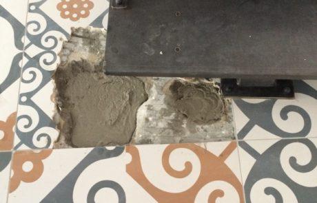 plancher chauffant electrique après réparation